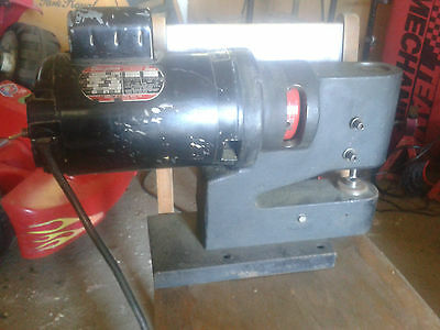 Heck TRACE A PUNCH 120 V single phase 1/8 max mild steel fabrication metal NO 3