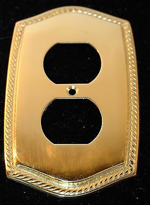 Solid Brass Outlet Wall Plate