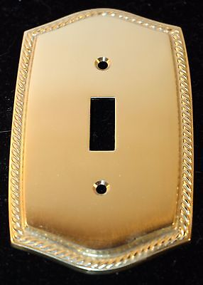 Solid Brass Switch Wall Plate