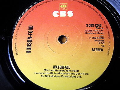 "Hudson-Ford - Waterfall  7"" Vinyl"