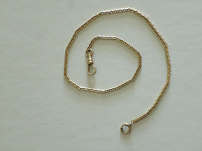Antique Simmons Gold Filled Watch Pocket Chain, Early 20th Century
