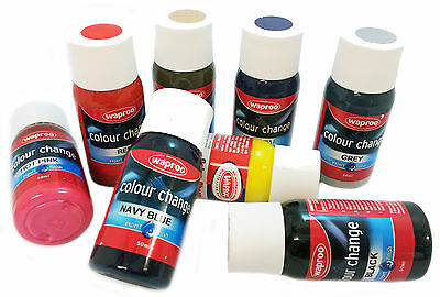 Waproo Shoe Paint + Brush Over 20 colors for leather & Synthetic