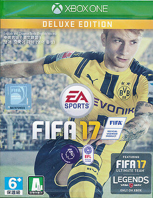 FIFA 17 Deluxe Edition Xbox One Game Brand New & Sealed