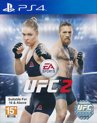 UFC 2 PS4 Game Brand New & Sealed