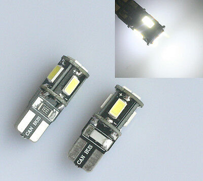 10x T10 6 SMD 5630 CREE LED Xenon w5w Canbus Standlicht Weiß Beleuchtung 6000K
