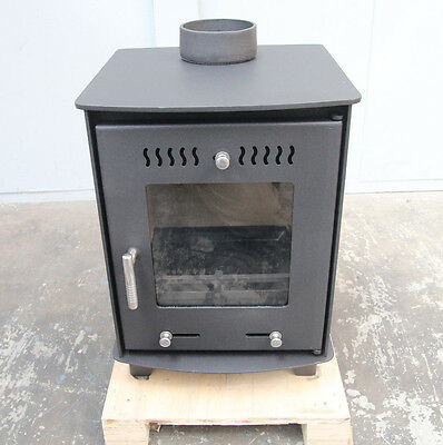 Slimline Slow Combustion Radiant wood fire heater stove fireplace