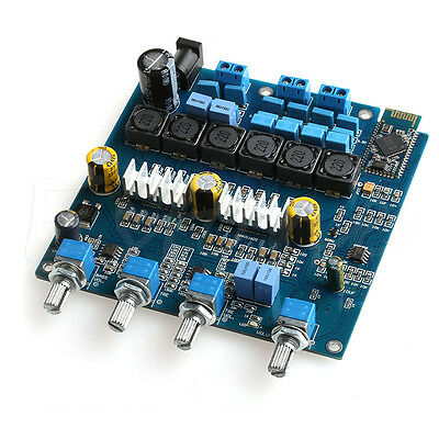 New TPA3116 2.1 50WX2+100W+ Bluetooth Class D power amplifier Completed board
