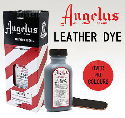 Angelus Leather Dyes - Great color Range over 40 Colours