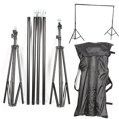 Foldable Crossbar   Photography Studio Background Backdrop Stand Support