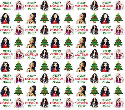 Personalised Christmas Gift Wrap LITTLE MIX Style Wrapping Paper