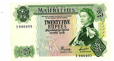 Mauritius ... P-32b … 25 Rupees … ND(1967) … *VF-XF*