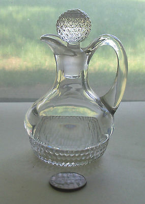 Nice Early  Fancy Vinger With Glass Topper
