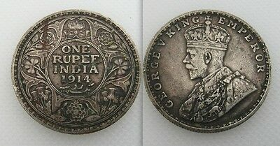 Collectable 1914 King George V One India Rupee