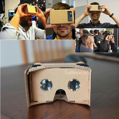 ULTRA CLEAR Google Cardboard Valencia Quality 3D VR Virtual Reality Glasses FE