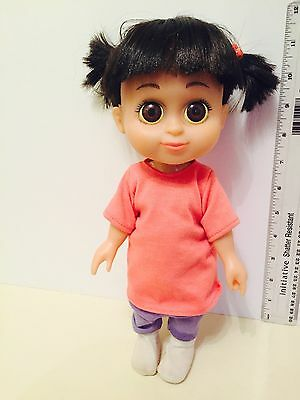 """Disney Store Monsters Inc Large Talking Babbling Boo Doll 17 """" RARE! With Socks"""