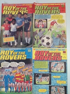 Roy Of The Rovers Comic ~ 4 Editions From May1985 ~ Free Postage