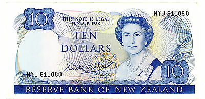 New Zealand … P-172c … 10 Dollars … ND(1989-92) … *VF+*