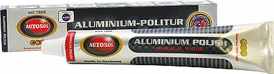 Solvol Autosol ALUMINIUM Cleaner Polish Shine Paste 75ml Use On Other Metals