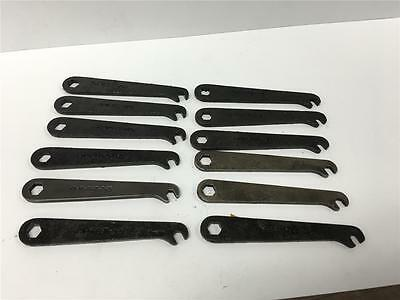 "Plomb Hawk Gun Smith Military 12pc Combo Wrench Set 41-W-867-265 & 1/4"" 3/8"""