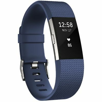 Fitbit Charge 2 Activity Tracker Blue Small