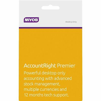 MYOB AccountRight Premier 3 PC Card