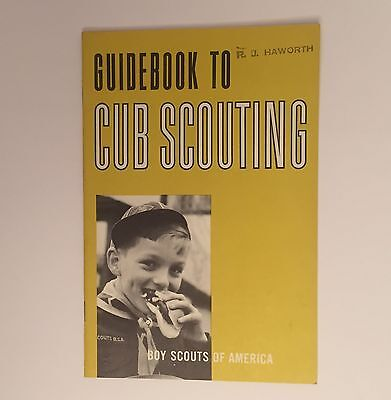 Guidebook To Cub Scouting - Vintage Boy Scouts of America Book