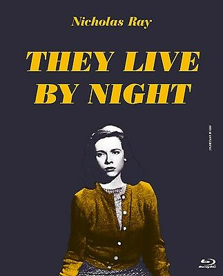 THEY LIVE BY NIGHT 1948 - Japanese original High-Definition  Master Blu-ray