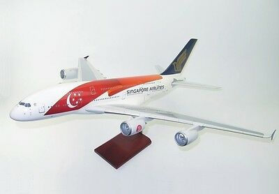 Singapore Airlines Airbus A380-800 9V-SKI Desk Display 1/100 Model AM Airplane