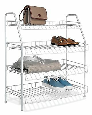 Whitmor 6023-211 Four Tier Closet Shelves