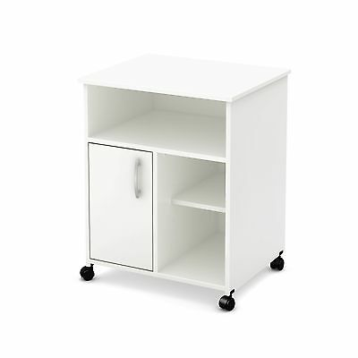South Shore Axess Collection Printer Stand Pure White