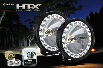 Lightforce DL230 HTX230 70W HID 80W LED Hybrid Pair Driving Light + Wiring Harne