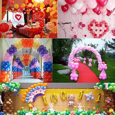 20/100pcs 10 inch colorful Pearl Latex Thickening Wedding Party Birthday Balloon