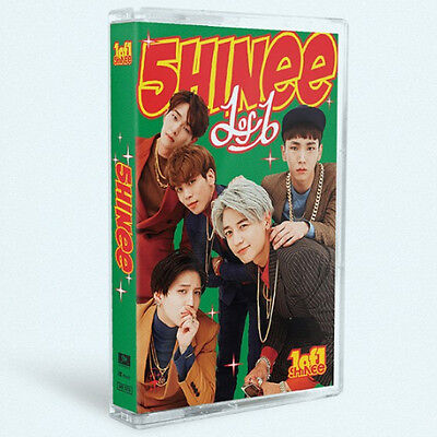 SHINEE-[1 OF 1] 5th Album Limited Edition Ver. Cassette Tape+POSTER K-POP Sealed