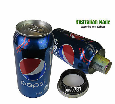Pepsi Cola Stash Can Box Secret Hidden Compartment Hide Herbs Cash Aussie Made