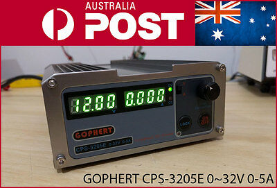 Gophert CPS-3205E 0-32V 0-5A 160W Adjustable Variable DC Bench Lab Power Supply