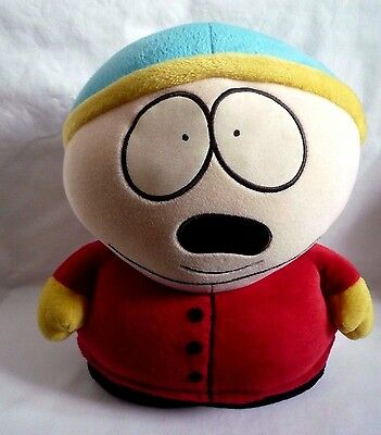 "South Park Official  Large 12"" Eric Cartman Soft Toy 1998 Comedy Central"