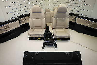 BMW F10 Leather Seats Comfort Sitze Interior Lederausstattung Dakota Oyster