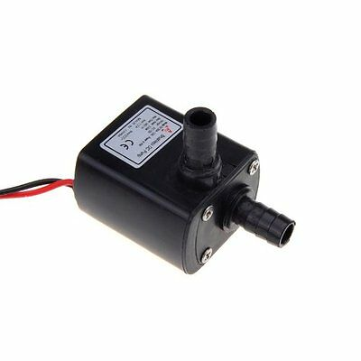 Anself Ultra-quiet Mini DC12V Micro Brushless Water Oil Pump Submersible Water P