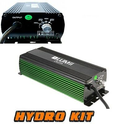 Lumii 600W Electric Digital Dimmable Ballast For Grow Light Hydroponics 400w