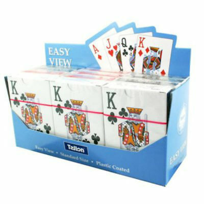 1 X Tallon Easy View Playing Cards With Large Display Numbers (5999)