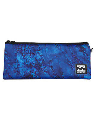New Billabong Large Pencil Case Gifts Blue