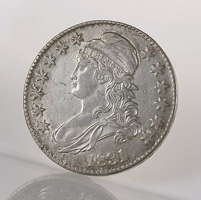 1831 Capped Bust 50C Uncertified Ungraded Early US Mint Silver Half Dollar Coin