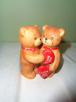 1979 Enesco - Lucy & Me - Pigglets - I Love You Teddy Bears