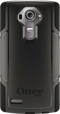 New in Box Authenic OtterBox LG G4 Black Commuter Series Shell Gel Cover Case