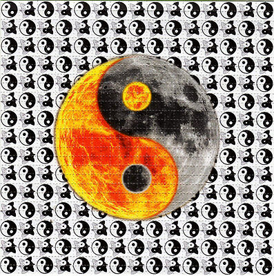 YIN YANG -  BLOTTER ART Sheet Tabs Psychedelic Perforated Acid Free Art Page