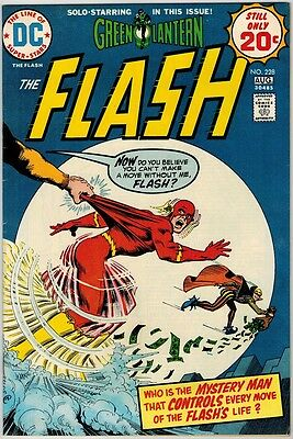 Flash 228 (1974) VF- Flash Meets Cary Bates! 2nd Unamed Earth-Prime!