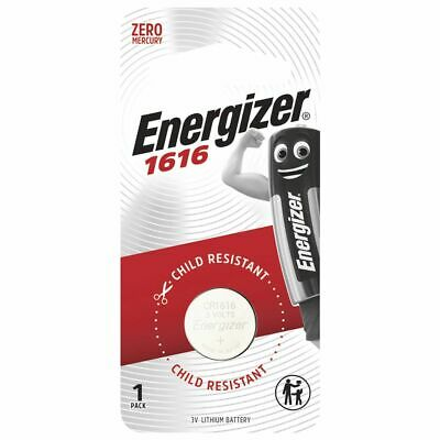 Energizer 1616 Lithium Coin Battery