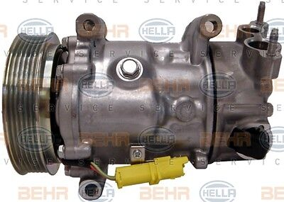 PEUGEOT 207 Air Con Compressor 1.4,1.6 2006 on 8FK351340-081 AC Conditioning New