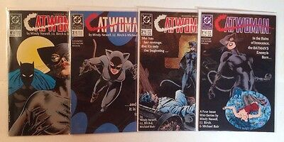 Catwoman 1-4 Complete Near Mint Lot Set Run