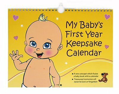 My Baby's First Year Keepsake - Annual Memory Book. The perfect gift idea for ba